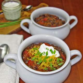 Vegetarian Black Bean Chili.