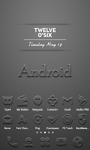 Embossed - Icon Pack Screenshot