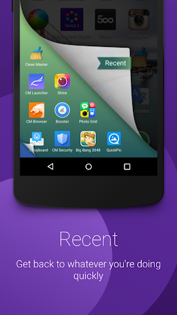 CM Swipe (Launcher & Booster) 1.1.0 screenshot 177952