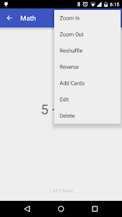 Flashcards Application- screenshot thumbnail