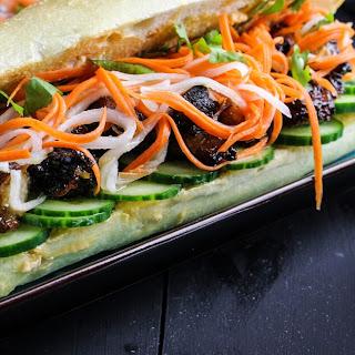 Pork Belly BáNh Mì Sandwiches Recipe