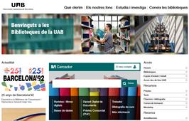 Nou web del Servei de Biblioteques