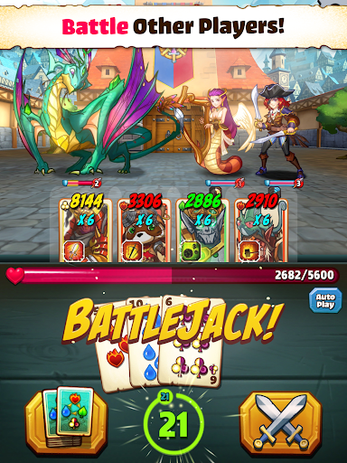 Battlejack: Blackjack RPG screenshot 8
