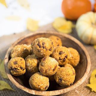 Pumpkin Chocolate Chip Cookie Dough Bites