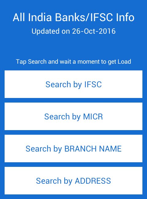 Screenshots of All Indian Banks IFSC & MICR for iPhone