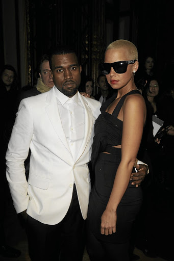 During the Amber Rose years, Ye's wardrobe was slick and stylish.