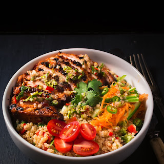 Thai Chicken Buddha Bowl Recipe