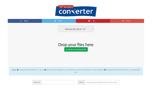 EPUB to TXT Converter