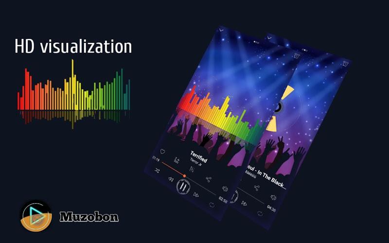 Music player Muzobon Pro Screenshot 1