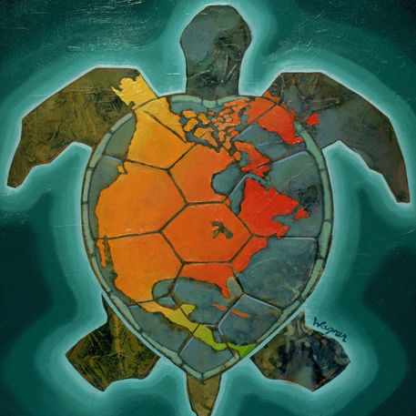 Our Herp Class Turtle Island And Turtles In Native American Mythology