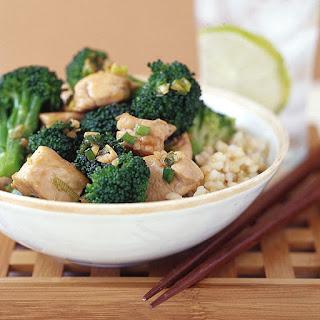 Chicken Teriyaki with Broccoli Recipe