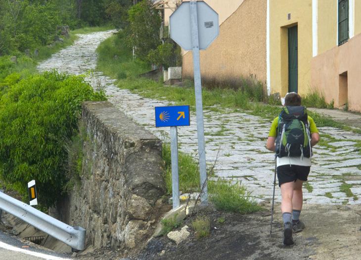 La chaussée, via de la plata Espagne