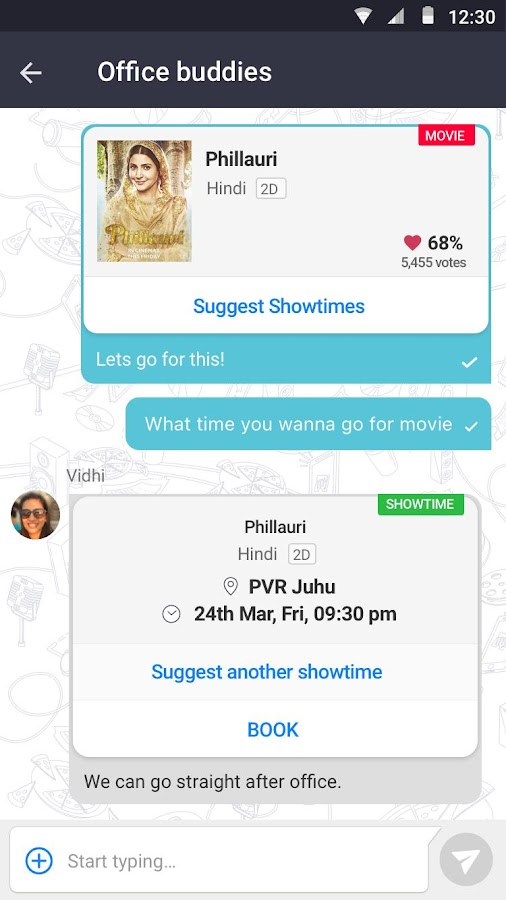 BookMyShow–Movie Tickets,Plays- screenshot