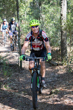 Photo: Howard leading the Beast of Burden riders