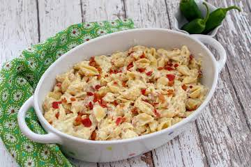 Bacon and Pepper Jack Mac & Cheese