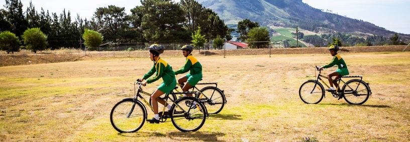 Dimension Data's Qhubeka programme is using bicycles as tools of change, connecting people to schools, jobs and clinics. Source: Qhubeka.org