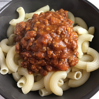 Beefy Tomato Bolognese Sauce.