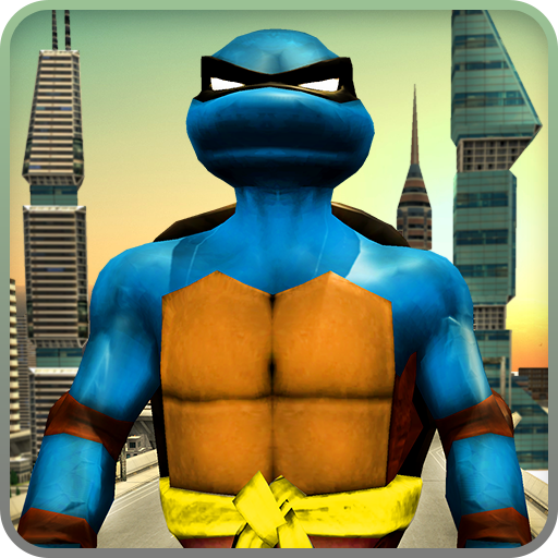 Monster Ninja Turtle Vs Captain: Robot Battle Games (apk) free download for Android/PC/Windows