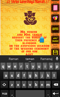 Hindu wedding invitation cards android apps on google play hindu wedding invitation cards screenshot thumbnail hindu wedding invitation cards screenshot thumbnail stopboris Images