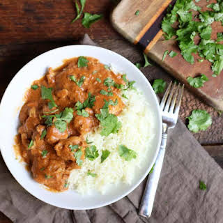 Slow Cooker Butter Chicken Curry.