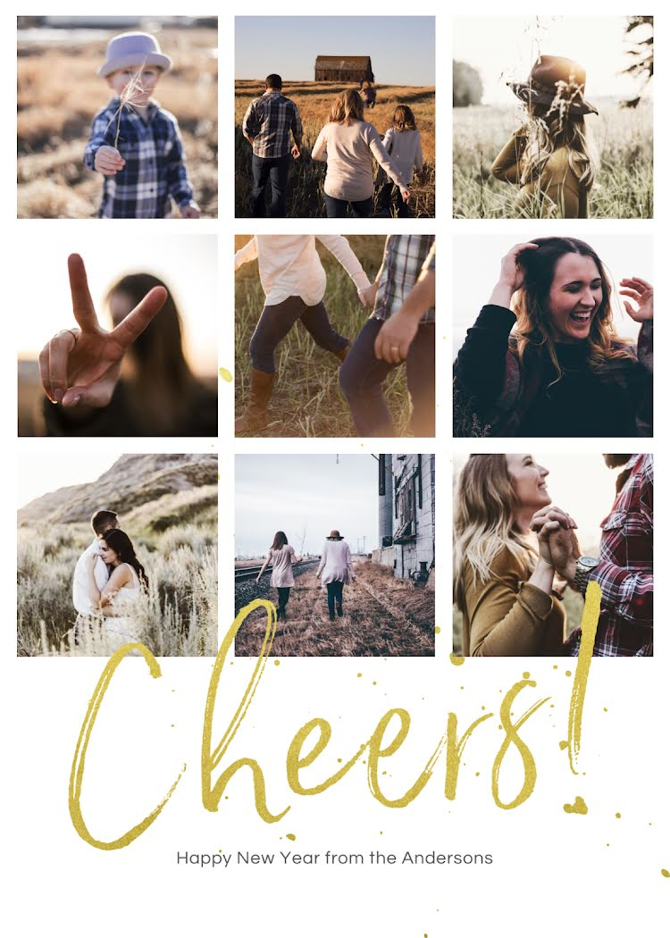 Cheers from the Griswalds - Christmas Card Template