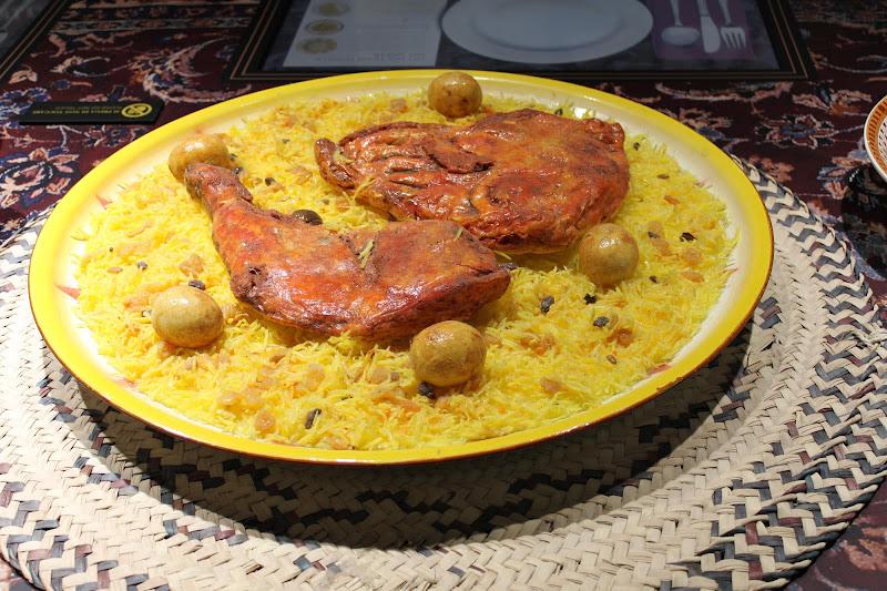 risotto giallo con pollo di Albyfoto