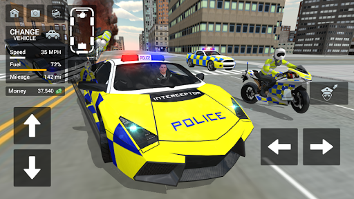 Police Car Driving - Motorbike Riding 1.07 gameplay | by HackJr.Pw 15