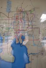Photo: Tampan bussiverkosto - yllättävän hyvin pääsee julkisilla liikkumaan