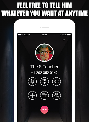 Talk To Teacher 3D™ - Scary Teacher Call Simulator APK MOD (Astuce) screenshots 2