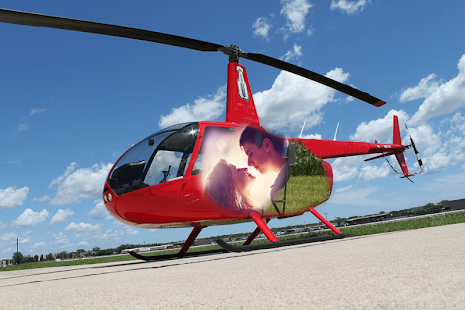 Helicopter Photo Frames - náhled