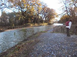 Photo: le Pont Canal sur la rivière de l'Argent-Double
