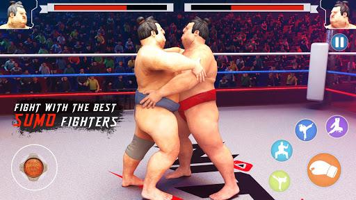 wrestling games sumo fighting 3d free game 1.0 screenshots 3