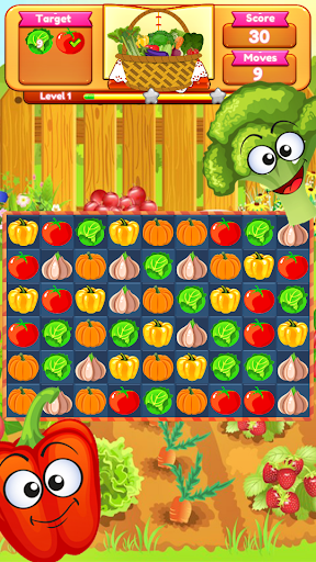 Vegetable Farm Splash Mania screenshot 5
