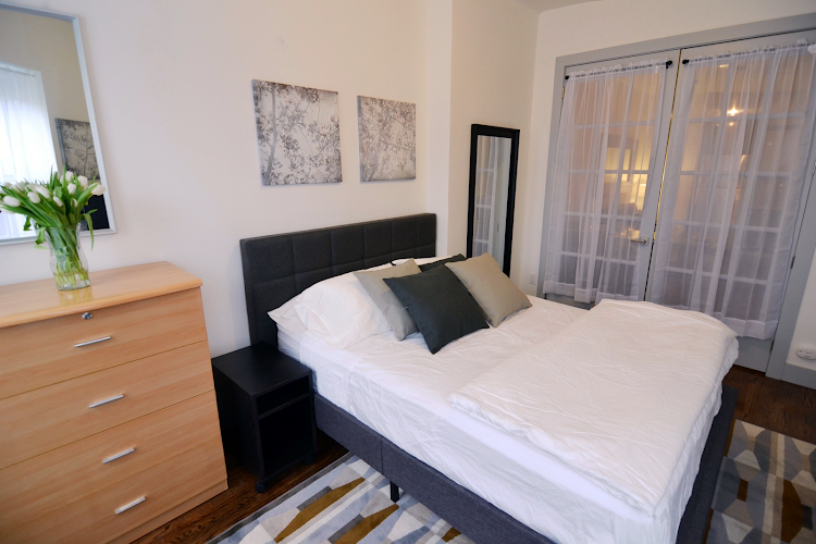 Bedroom at Prospect Heights Apartments