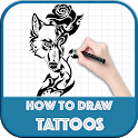 How to Draw Tattoos Step by Step icon