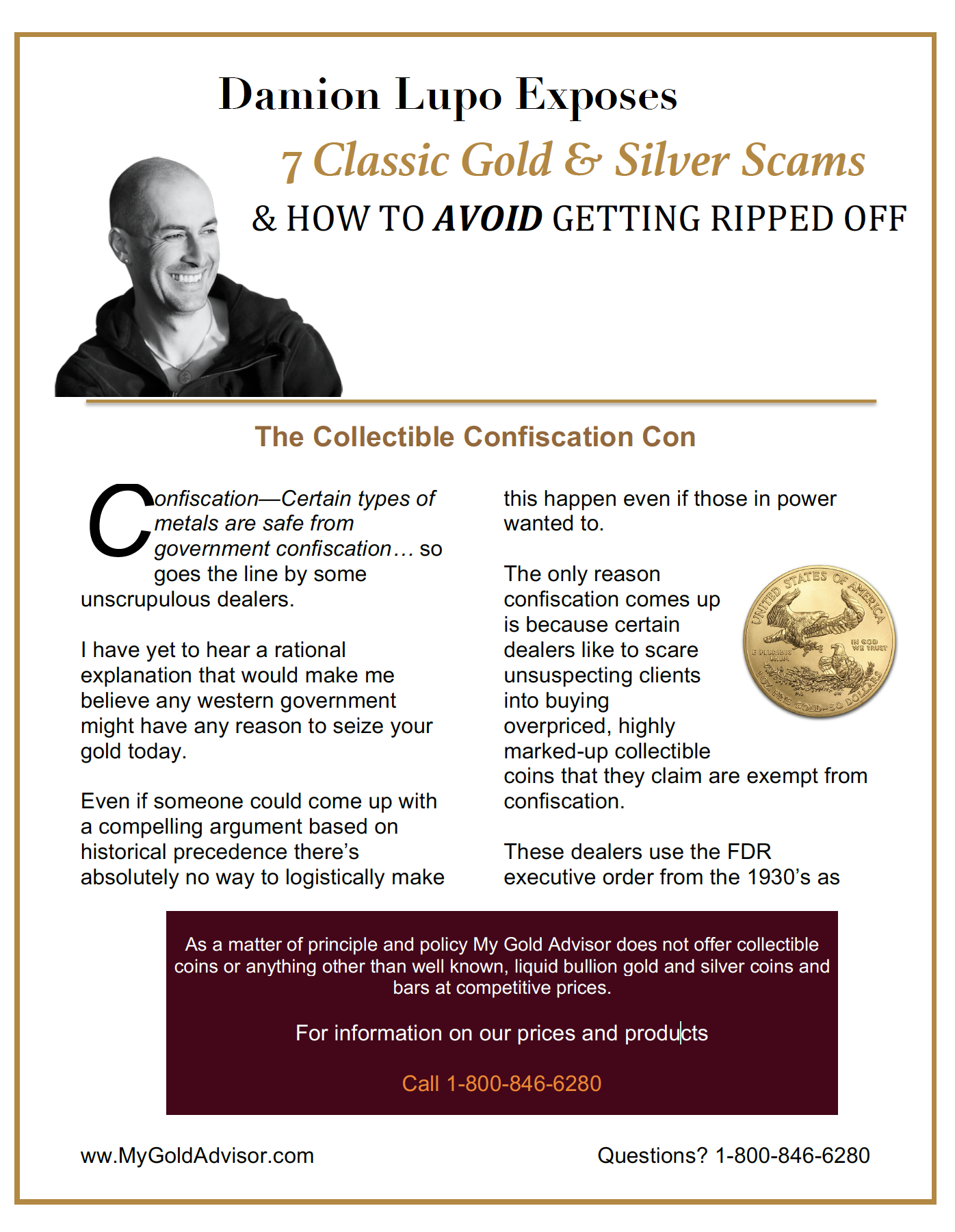 Get the Gold Scams