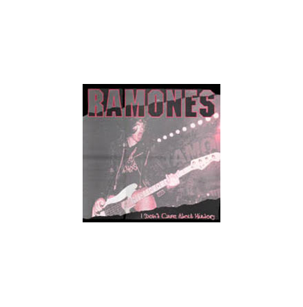 LP - Ramones - I Don´t Care About History