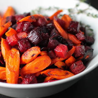Roasted Carrots and Beets with Thyme Recipe