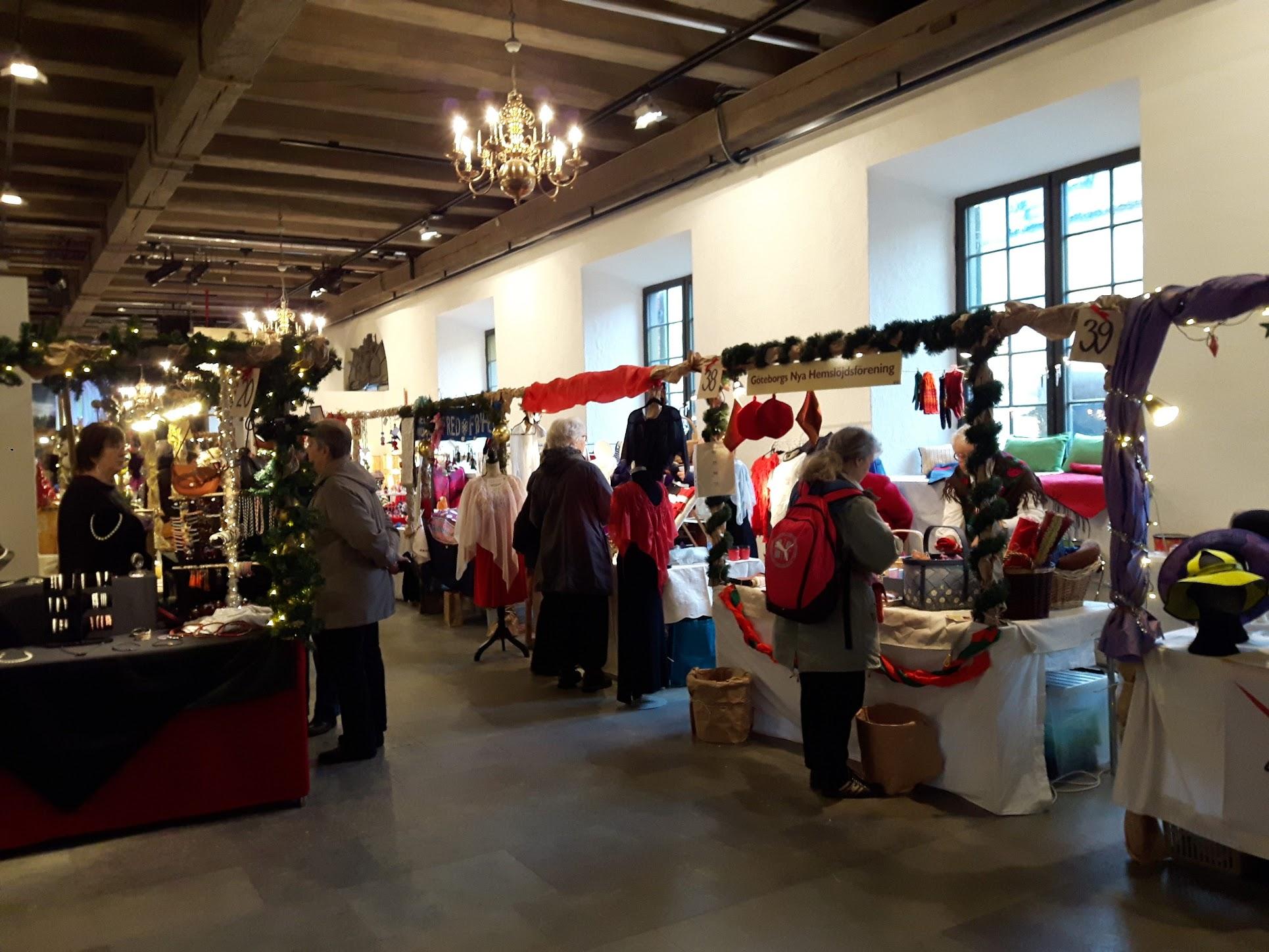 Kerstmarkt in Kronhusboderna