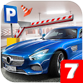 Multi Level 7 Car Parking Simulator Icon