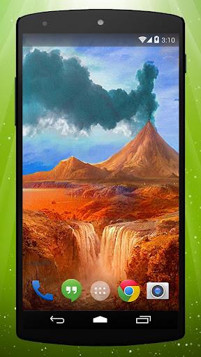 Eruption Live Wallpaper