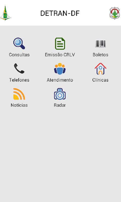 Detran Móvel- screenshot