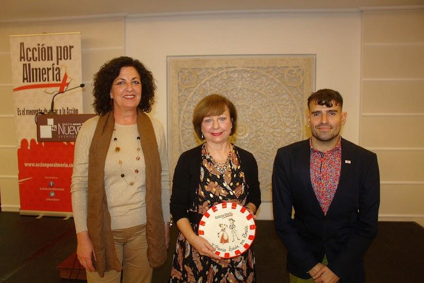 Premio a la Asociación Amigos de la Alcazaba.