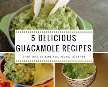 5 Delicious Guacamole Recipes