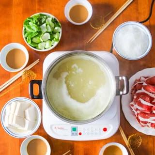 Chinese Mongolian Hot Pot.