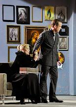 Photo: Theater an der Wien: La mère coupable Oper in drei Akten von Darius Milhaud . Premiere am 8.5.2015 Mirelle Delunsch, Stephane Loges. Copyright: Barbara Zeininger