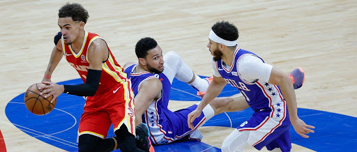 The Sixers Melted Down In The Fourth Quarter To Blow An 18-Point Lead To The Hawks In Game 5