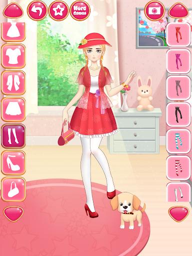 Anime Girls Fashion - Makeup & Dress up apktram screenshots 16