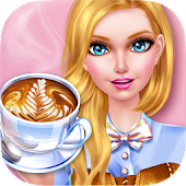 Fashion Doll: Coffee Art Salon