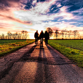 Shadow Hunters by Thilo Bayer - Landscapes Sunsets & Sunrises